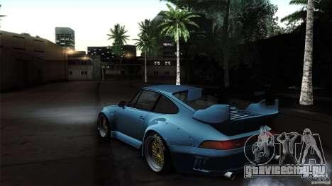 Porsche 993 RWB для GTA San Andreas вид справа