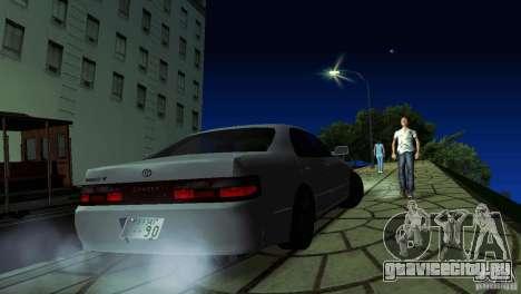 Toyota Chaser Tourer V для GTA San Andreas вид слева