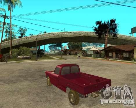 Peugeot 404 UXD для GTA San Andreas вид слева