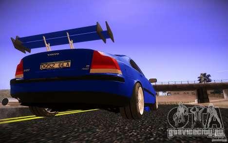 Volvo S 60R для GTA San Andreas вид сверху