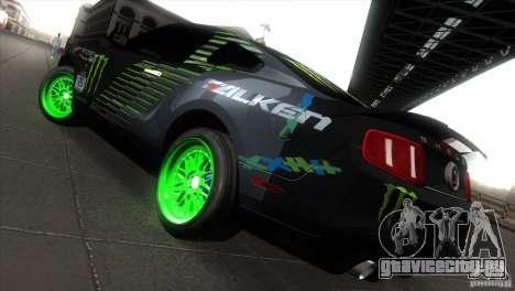 Ford Shelby GT500 Falken Tire для GTA San Andreas вид справа