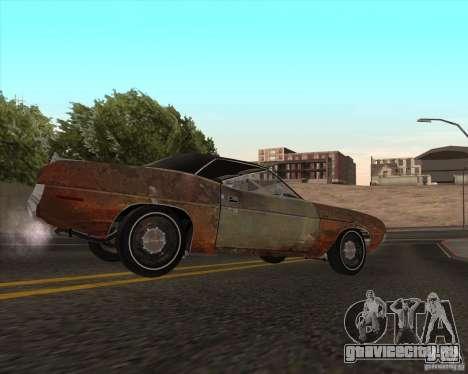 Plymouth Cuda Ragtop 1970 для GTA San Andreas вид слева