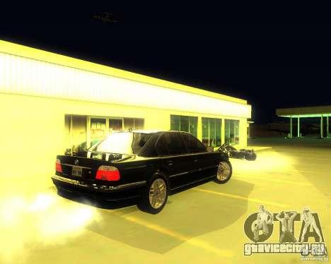 BMW 750i e38 2001 M-Packet для GTA San Andreas вид справа