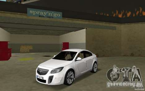 Opel Insignia для GTA Vice City
