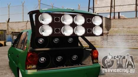 Volkswagen Gol G4 Edit для GTA 4 вид сбоку