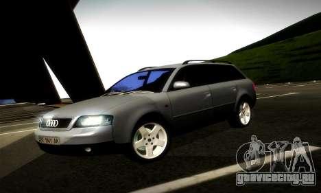 Audi A6 C5 Avant 3.0 для GTA San Andreas вид слева