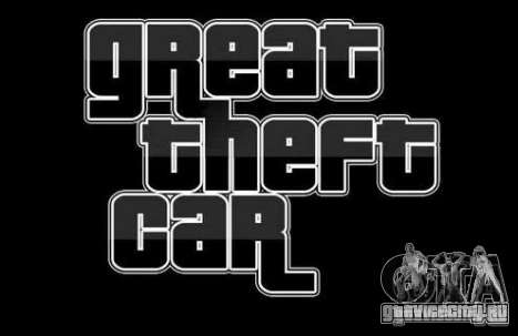 Great Theft Car V1.1 для GTA San Andreas