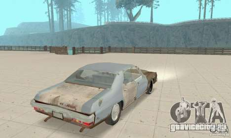Pontiac LeMans 1970 Scrap Yard Edition для GTA San Andreas вид слева