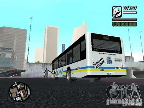 Onibus для GTA San Andreas вид справа