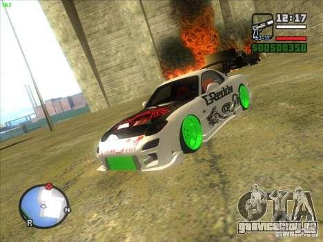 Mazda RX-7 Drift Version для GTA San Andreas