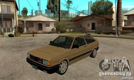 VW Gol GL 1.8 1989 для GTA San Andreas