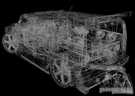 AMG Hummer H2 Hard Tuning v2 для GTA Vice City вид слева