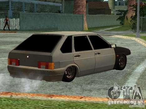 ВАЗ 2114 Бродяга для GTA San Andreas вид слева