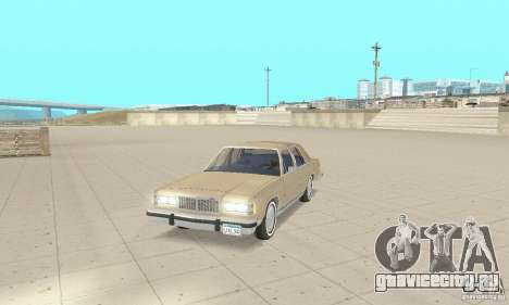 Mercury Grand Marquis LS 1986 для GTA San Andreas