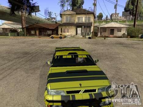 Винил для Sultan для GTA San Andreas вид сзади