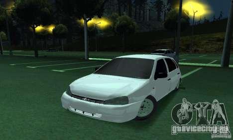 Lada Kalina Hatchback для GTA San Andreas