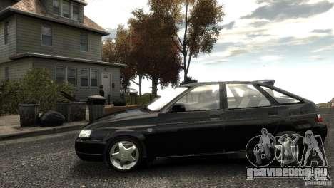 ВАЗ 2112 для GTA 4 вид слева