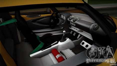 Lotus Exige Track Car для GTA San Andreas колёса