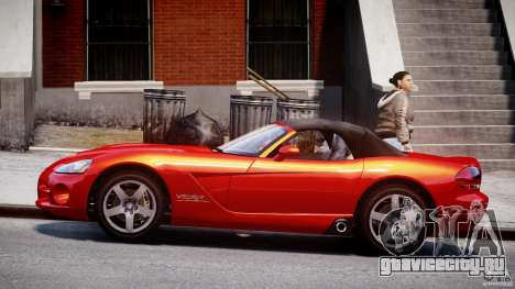 Dodge Viper SRT-10 2003 1.0 для GTA 4 вид слева