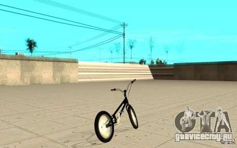 Trail Bike для GTA San Andreas вид сзади слева