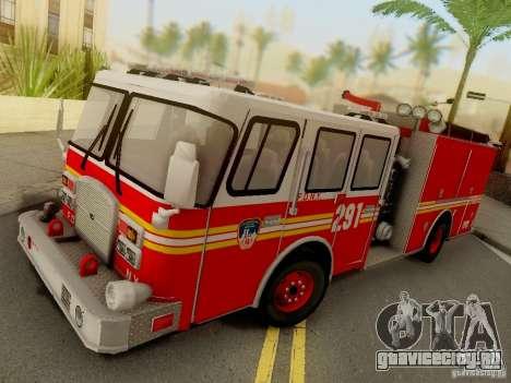 E-One FDNY Ladder 291 для GTA San Andreas