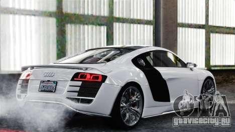 Audi R8 LeMans для GTA 4 вид справа
