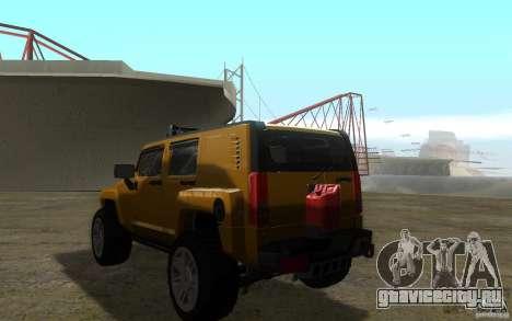 Hummer H3R для GTA San Andreas вид слева