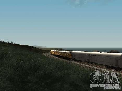 2ТЕ10У-0137 для GTA San Andreas вид изнутри
