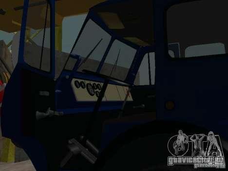 МАЗ КС3577-4-1 Ивановец для GTA San Andreas вид сзади