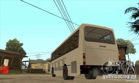 ЛАЗ 42078 (Лайнер-10) для GTA San Andreas вид сзади слева