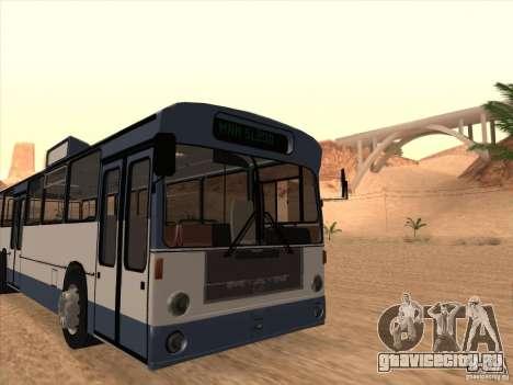 MAN SL200 Exclusive v.1.00 для GTA San Andreas вид сзади