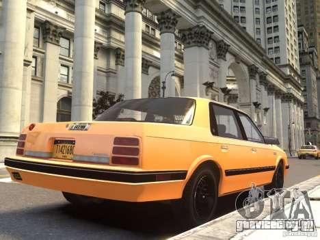 Oldsmobile Cutlass Ciera 1993 для GTA 4 вид слева