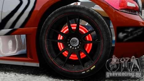 Volkswagen Scirocco BTCS MkIII 2010 для GTA 4 вид сзади