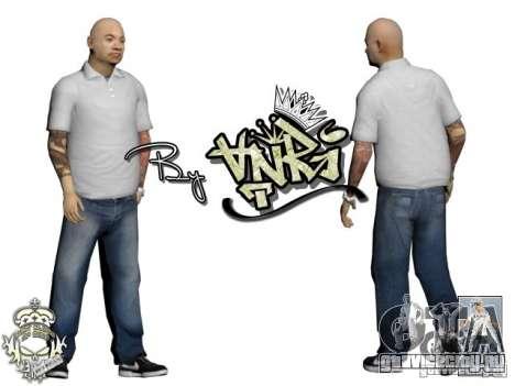 Skins Pack Yakuza для GTA San Andreas