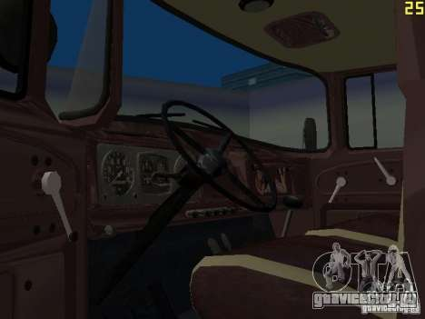 ЗИЛ 130 ММЗ 4502 для GTA San Andreas вид сзади слева