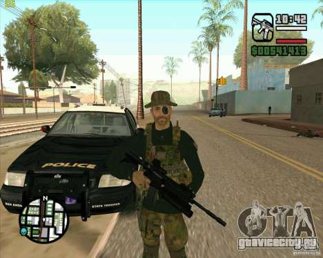Скин Praice из COD 4 для GTA San Andreas второй скриншот