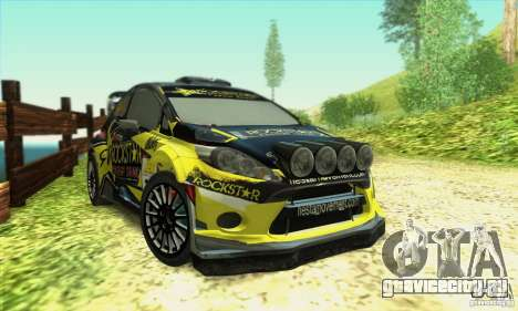 Ford Fiesta Rockstar Energy для GTA San Andreas