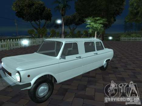 ЗАЗ 968М Лимузин для GTA San Andreas вид сверху