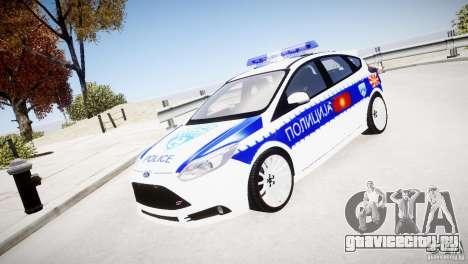 Ford Focus Macedonian Police для GTA 4