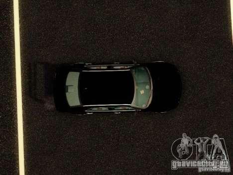Chrysler 300C VIP для GTA San Andreas вид сзади