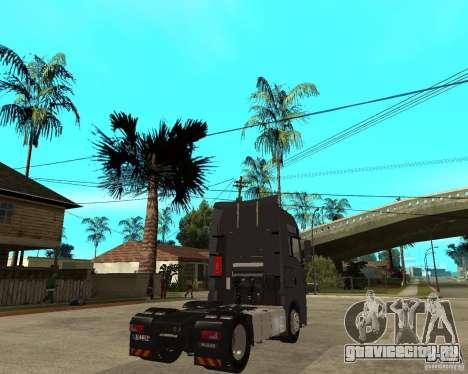 Man TGA для GTA San Andreas вид сзади слева