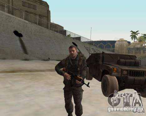 Alex Mason для GTA San Andreas третий скриншот