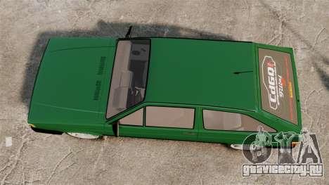 Volkswagen Gol GL 1992 Edit для GTA 4 вид справа