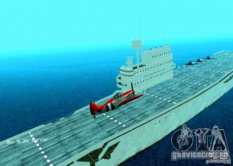 Battle Ship для GTA San Andreas второй скриншот
