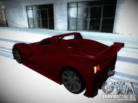 Lada Revolution для GTA San Andreas вид изнутри