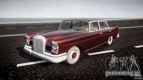 Mercedes-Benz W111 v1.0 для GTA 4