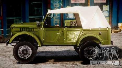 ГАЗ-69А 1965 для GTA 4 вид слева