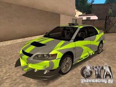 Mitsubishi Lancer для GTA San Andreas вид слева