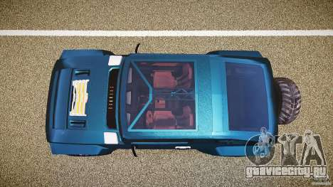 Hummer HX для GTA 4 вид справа