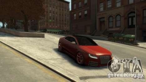 AUDI S5 для GTA 4 вид справа